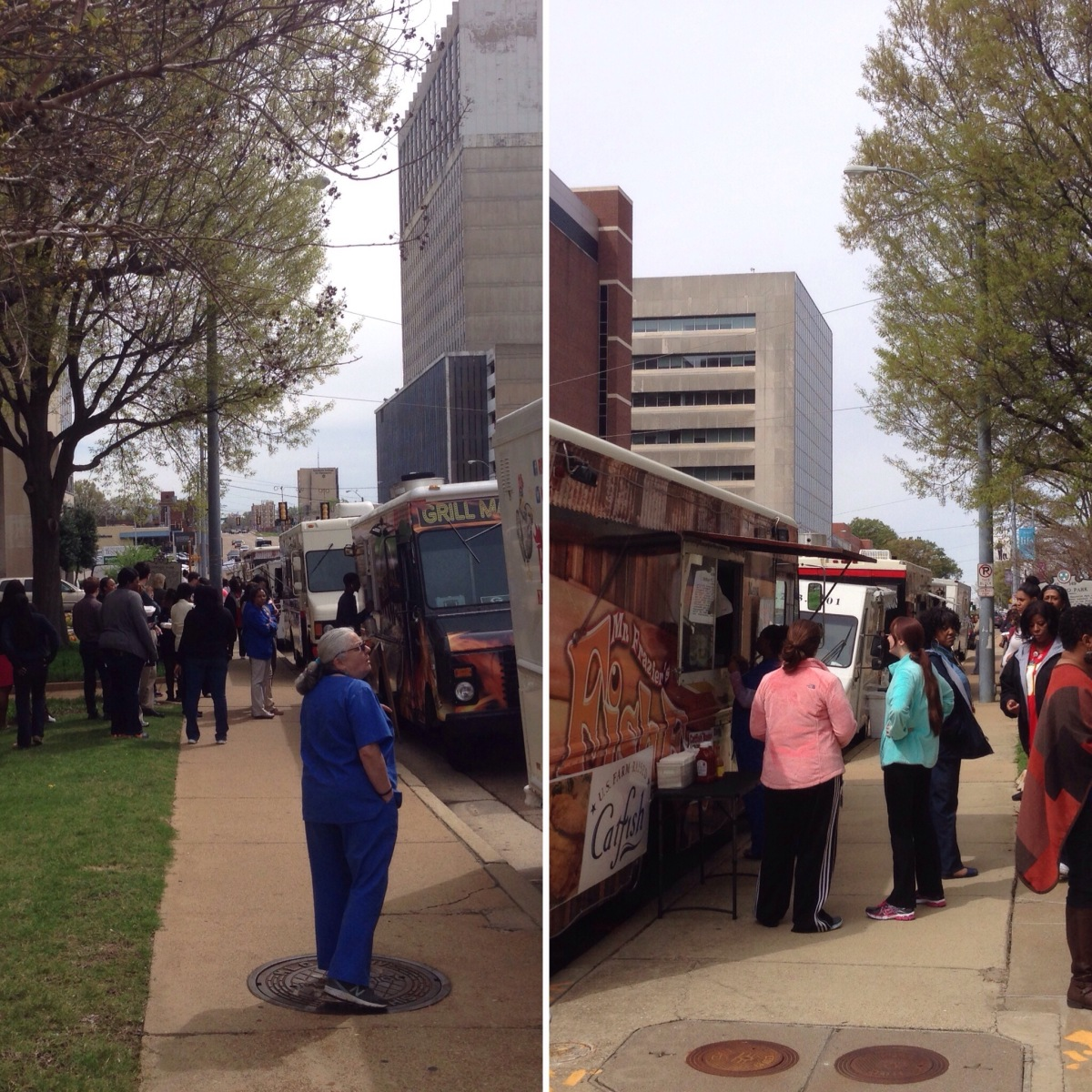 First Friday Food Trucks in the Medical Center