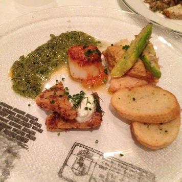 Seafood Mezza