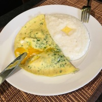 Poached Egg Omelette