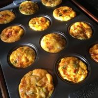 Easy Egg Muffins with Roasted Veggies