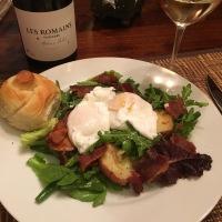 Salade Lyonnaise ou Niçoise?