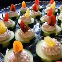 Cool Cucumber Canapés