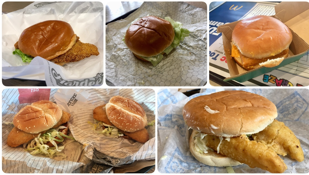 Field Assignment: Lenten Fish Sandwich Tasting