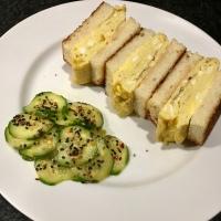 Japanese Omelette Sandwiches