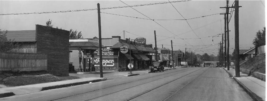 Photo Circa 1930 of Barksdale at Nelson Avenue